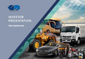 1Q 2019 GB Auto Investor Presentation