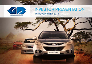 3Q 2014 GB Auto Investor Presentation