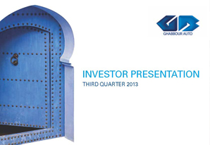 3Q 2013 GB Auto Investor Presentation