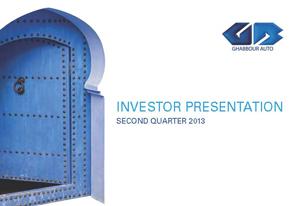 2Q 2013 GB Auto Investor Presentation