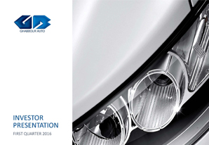 1Q 2016 GB Auto Investor Presentation