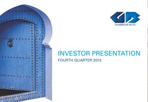 4Q 2013 GB Auto Investor Presentation
